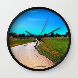 Uneven relations Wall Clock