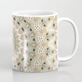 Beige , grey , mandala Coffee Mug