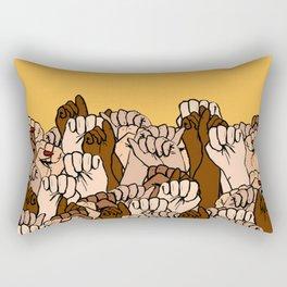 Power fists Rectangular Pillow