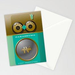 The Nakashuma Mark 2 in Teal Stationery Cards