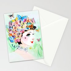 Thoughts A-Flutter Stationery Cards