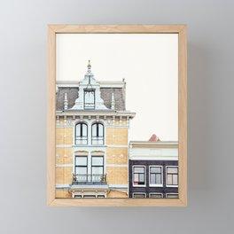 Dutch Baroque, Amsterdam Travel Photography Framed Mini Art Print