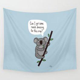 Koala Question Wall Tapestry