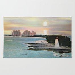 The Islands Of The Bahamas - Nassau Paradise Island Rug
