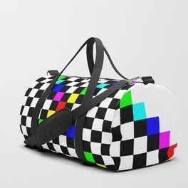 Prism Enters the Chessboard.svg Duffle Bag