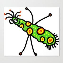 Virus Doodle Canvas Print