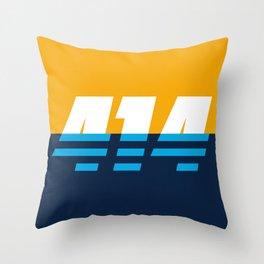 414 - People's Flag of Milwaukee Throw Pillow