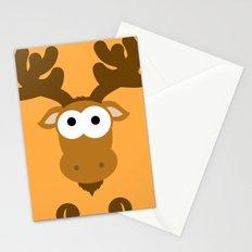 Minimal Moose Stationery Cards