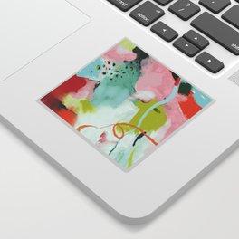 landscape in spring Sticker
