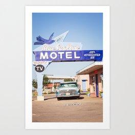 Vintage Route 66 Art Print