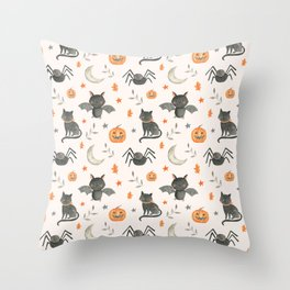 HALLOWEEN PARTY 2 Throw Pillow
