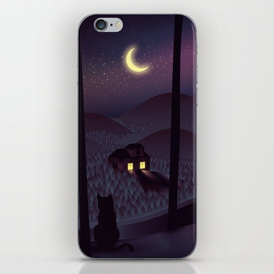 Silent Watcher iPhone & iPod Skin