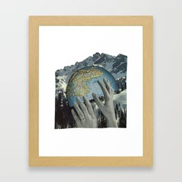Lift Us. Framed Art Print