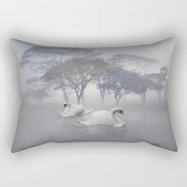 Swan Lake Rectangular Pillow