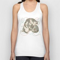 youtube Tank Tops featuring cats by Laura Graves