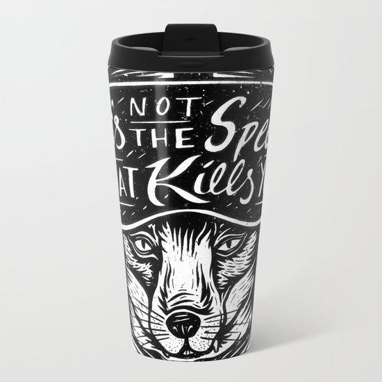 It's Not the Speed Metal Travel Mug