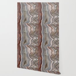 Striped Agate Crystal Wallpaper