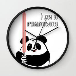 I'm a Pandawan Wall Clock