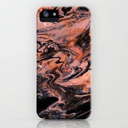 M A R B L E - grenadine mix iPhone Case