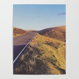 Mountain Road, TT Isle of Man. Poster