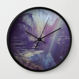 PP Landscape Wall Clock