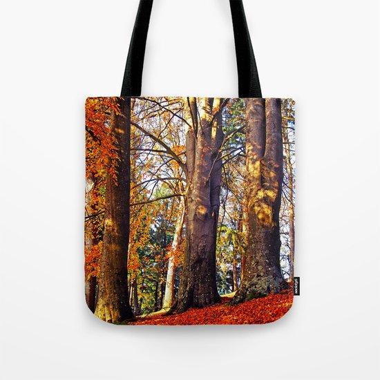 Autumn troika Tote Bag