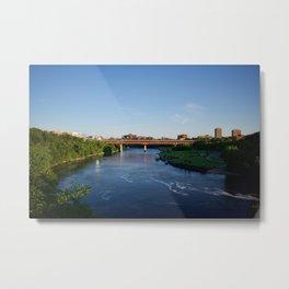 Washington Avenue Bridge, U of Minnesota Metal Print