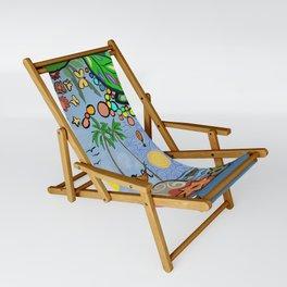 Man on a hamac Sling Chair