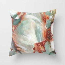 Jade Stone Throw Pillow