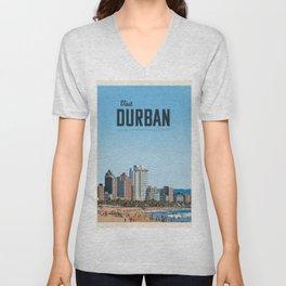 Visit Durban Unisex V-Neck