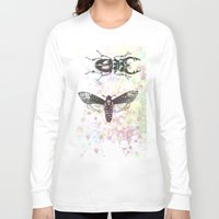 bugs Long Sleeve T-shirts featuring Bugs! by Maria Enache