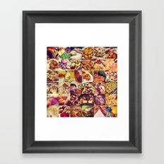 Food Porn Framed Art Print