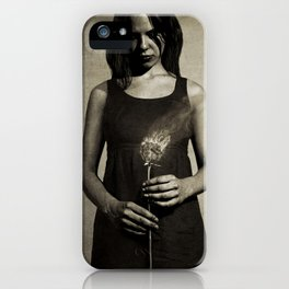 Loves Me Not iPhone Case