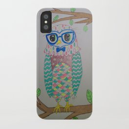 Lovely Owl iPhone Case