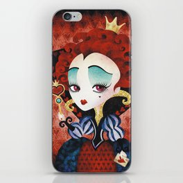 Queen of Hearts iPhone Skin