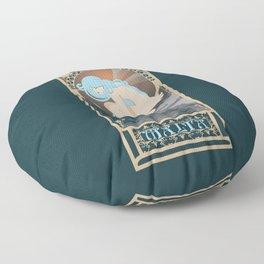 Malta Nouveau -  Sea Prince and the Fire Child Floor Pillow