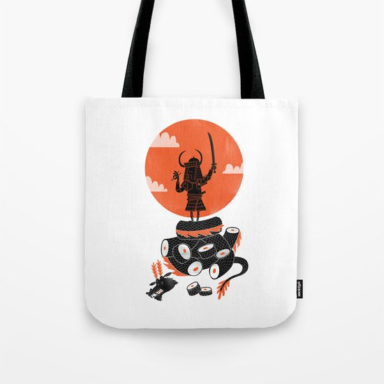Samurai Sushi Tote Bag