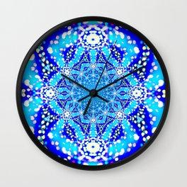 Serenity Mandala Wall Clock