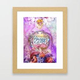 Violette Easter Framed Art Print