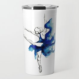 Ballet Dancer Travel Mug