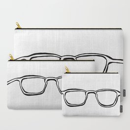 Four Eyes - B/W Carry-All Pouch