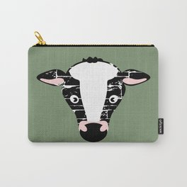 Cute Cow Face Carry-All Pouch