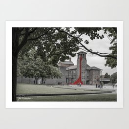 Silk Mill, Derby Art Print