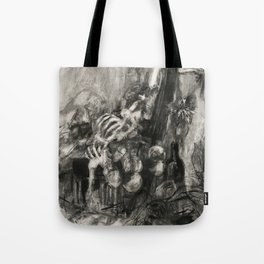 Pile of Innocent Bones Tote Bag
