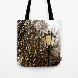 Lamppost Melodies  Tote Bag