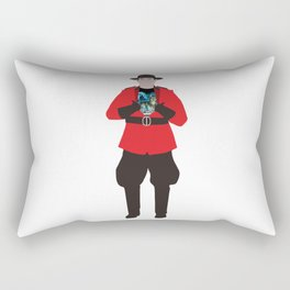 Canadian Spirit Animal Rectangular Pillow
