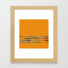 Cheetha Eyes Framed Art Print