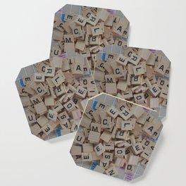 Scrabble Tile Board Game Coaster