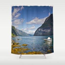 Undredal Shower Curtain