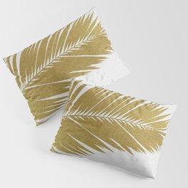 Palm Leaf Gold I Pillow Sham